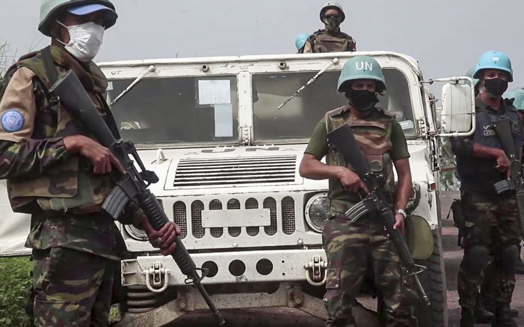 UN Peacekeepers in DR Congo - Photo Philadelphia Inquirer