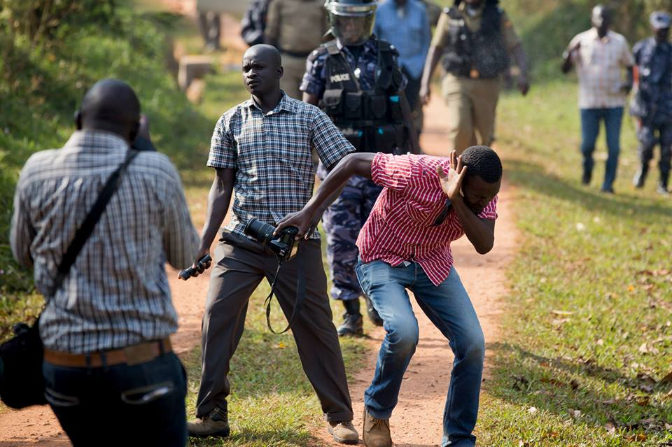Ugandan Journalists Assaulted by Military Police - Human Rights Network for Journalists