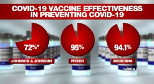 Vaccine Efficacy by Brand - Source KFYR