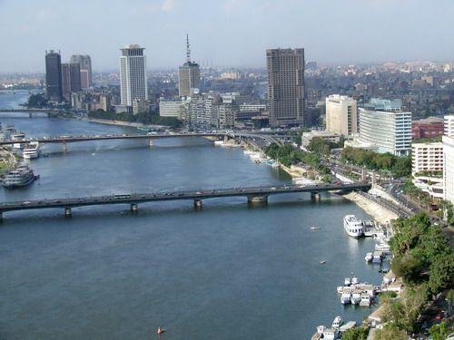 View of Nile River Flowing through Cairo, Egypt - Photo TripSavvy