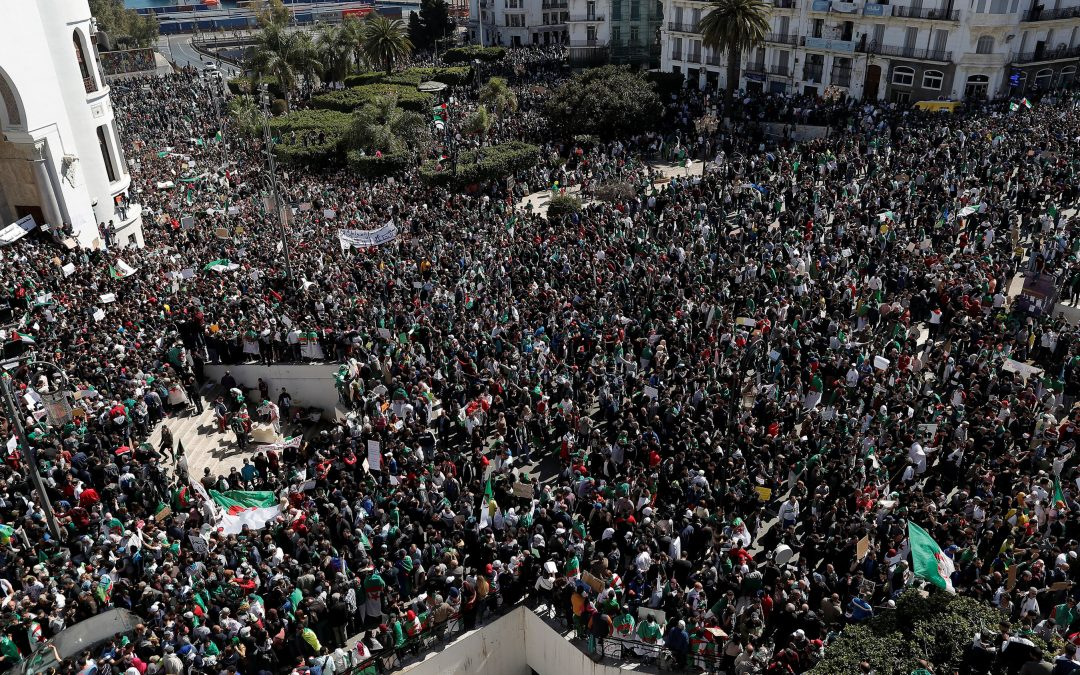 We Want a New Algeria Protesters Say - Photo The New York Times