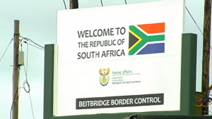 Welcome to South Africa Sign - Photo SCBC