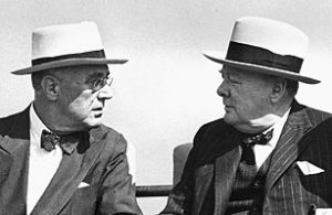 Winston Churchill and Franklin Roosevelt - Photo Videos Index on Times.com