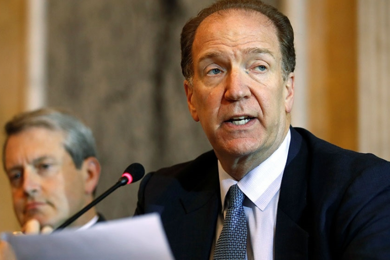 World Bank President David Malpass - Photo Al Jazeera