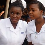 Zimbabwean Nurses - Photo The Zimbabwe Mail