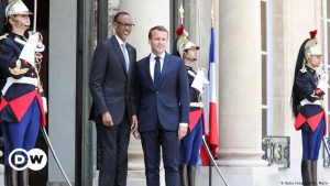 Agreeing to Disagree France's Macron Meets with Kagame - Photo Deutsche Welle