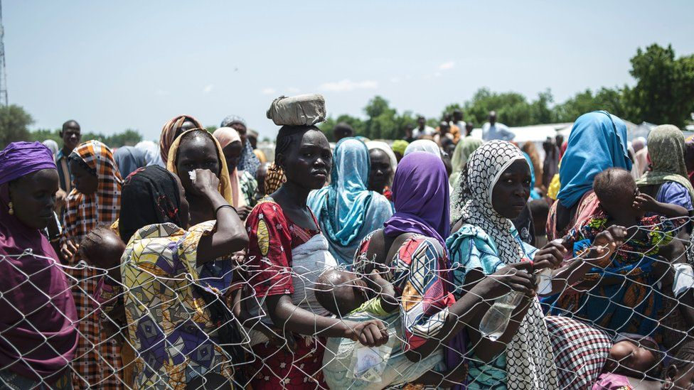 Aiding the IDPs and Refugees Victims of Boko Haram Attacks - Photo BBC
