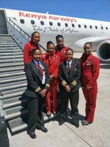 Airlines in Troubled Financial Waters - Photo Kenyan Airways on Twitter