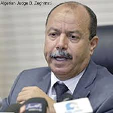 Algeria's Justice Minister Belkacem Zeghmati - Photo North Africa Journal