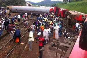 Cameroon Train Accident - Photo The Chronicle