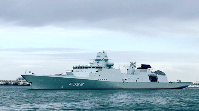 Denmark to Deploy Warship to Gulf of Guinea - Photo The Maritime Executive