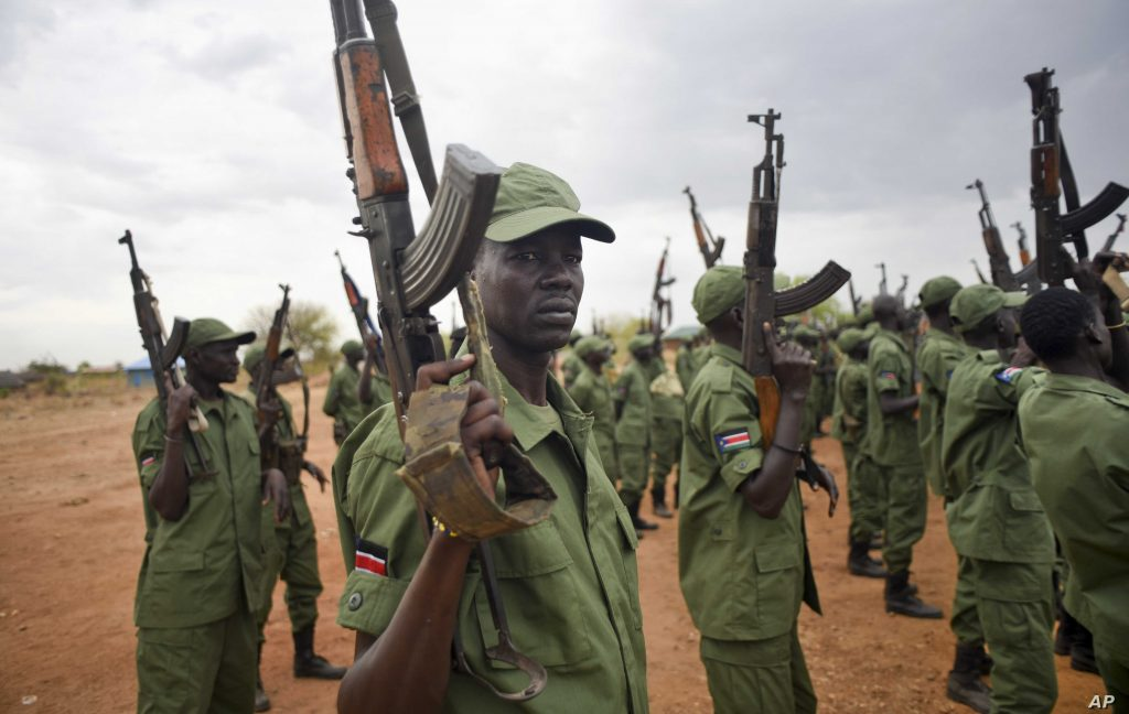Ease of Access to Weapons by South Sudanese Rebels Means a Relapse to War is only a Happy Trigger Away - Photo Jason Patinkin, AP