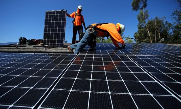 Egypt to Build Solar Plant at Kom Ombo - Photo The Egypt Independent