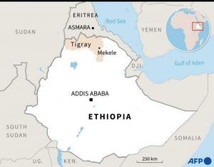 Ethiopia - Source Yahoo News