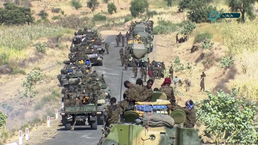 Ethiopian Federal Forces Deplyed in Tigray - Photo Deutsche Welle