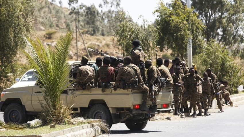 Ethiopian Federal Forces in Tigray - Photo The New Arab