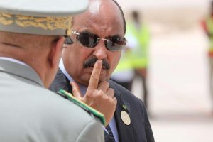 Ex-Mauritanian Top Army General and President - Photo The Arab Weekly