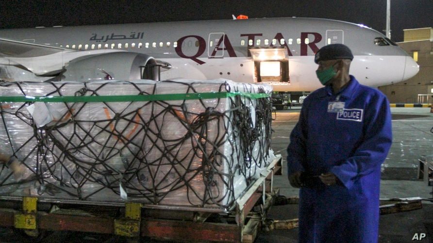 First Delivery of Kenya's Over One Million COVID-19 Vaccine Doses - Photo Voice of America