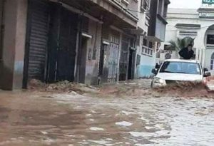 Floods in Algeria - Photo Middle East Online