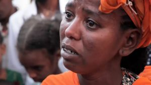 For Bereaved and Grieving Relations in Tigray, Eritrean Wtihdrawal Won't Heal Their Hurt - Photo Sky News