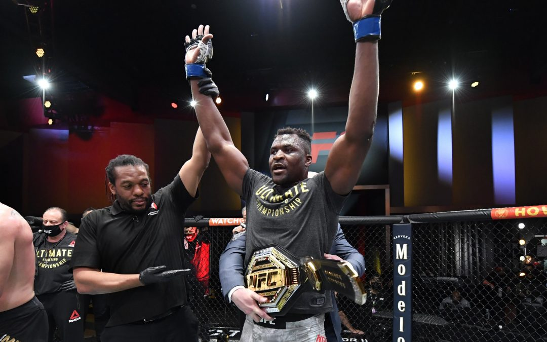 Francis Ngannou is UFC Heavyweight Champ - Photo Daily Sabah