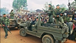 French Soldiers of the Turquoise Operation in Rwanda - Photo CNN