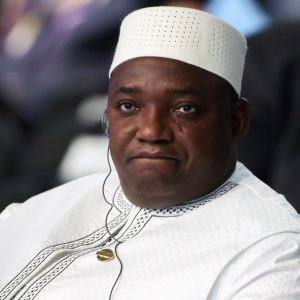 Gambian President Adama Barrow - Photo The Guardian