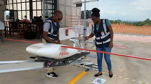 Ghana First Country in the World to Deliver COVID19 Vaccines via Drones - Photo Business Insider