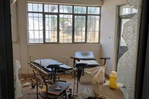 Hospitals Looted and Vandalized - Photo Times Colonist