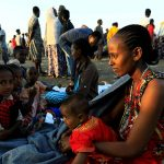 IDPs in Tigray - Photo Sky News