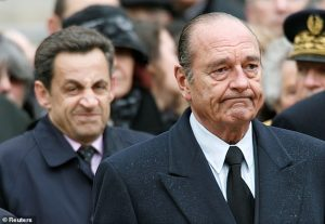 Sarkozy Followed in Jacques Chirac's Footsteps - Photo Daily Mail