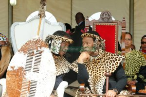 King Goodwill Zwelithini with King Buthelezi - Photo Real Time Images
