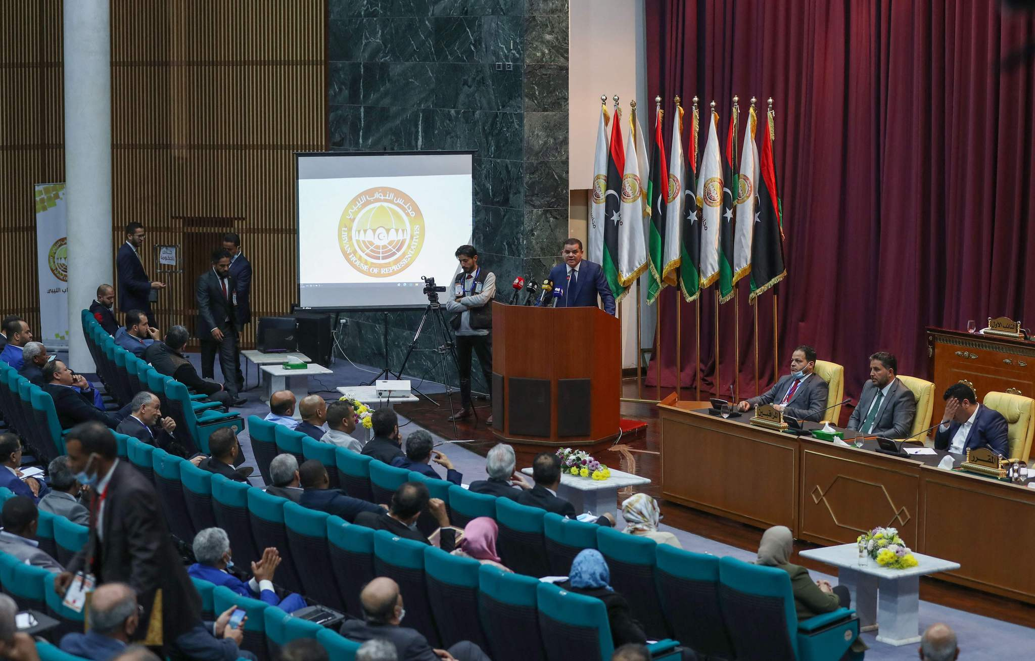 Libyan Parliament Approves New Government - Photo A News