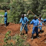 Mass Graves Identifed, Remains Exhumed - Photo ABC News