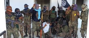 Members of al-Shabab in Cabo Delgado - Photo Geeska Africa