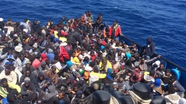 Migrants Thrown Overboard to Avoid Boat Sinking - Photo Voice of Djibouti