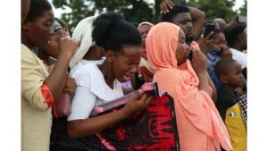 Mourners at the Burial - Photo The Citizen