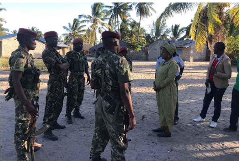 Mozambican Soldiers to Benefit from Training by American Special Forces - Photo CGTN Africa