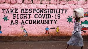 Mural Campaign on Fight Against COVID-19 - Photo France24
