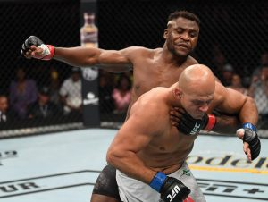 Ngannou at UFC 249 - Photo Forbes Magazine