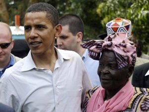 Obama and Dani - Photo The Independent