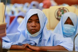 One of the Students Released - Photo Afolabi Sotunde Reuters