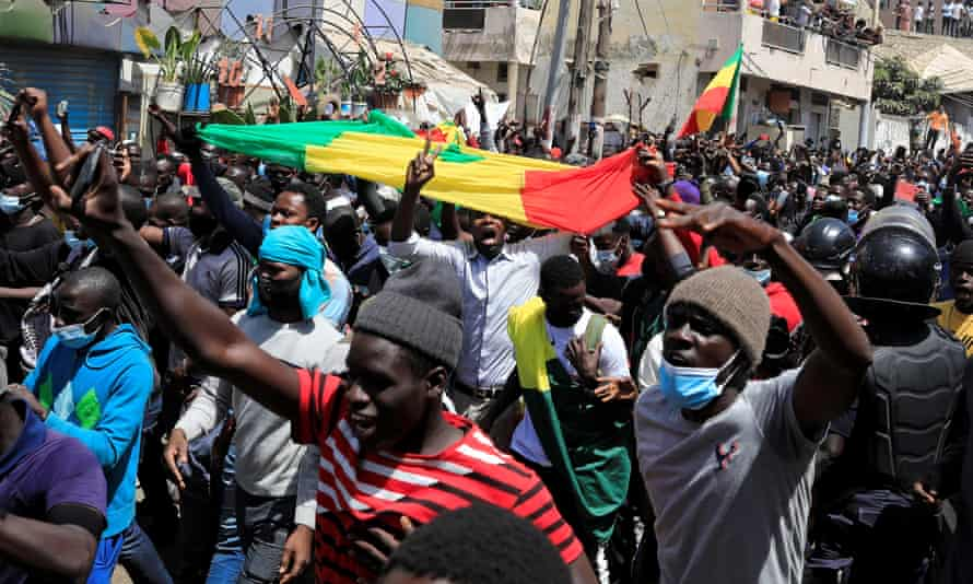 Opposition Leader Released on Bail - Photo The Guardian