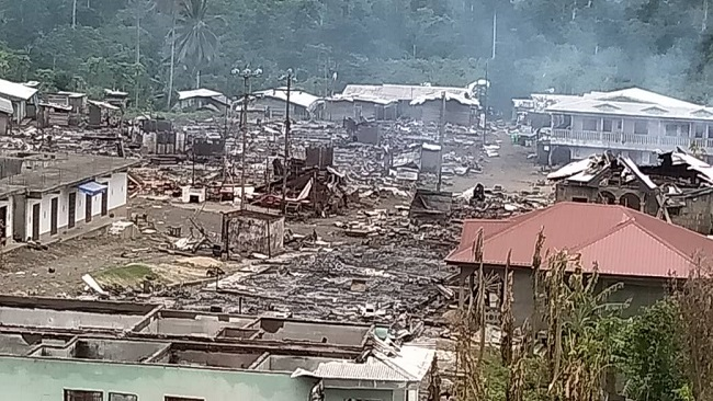 Over 550 Villages like Muyenge [Pictured] Have Been Razed across Southern Cameroons