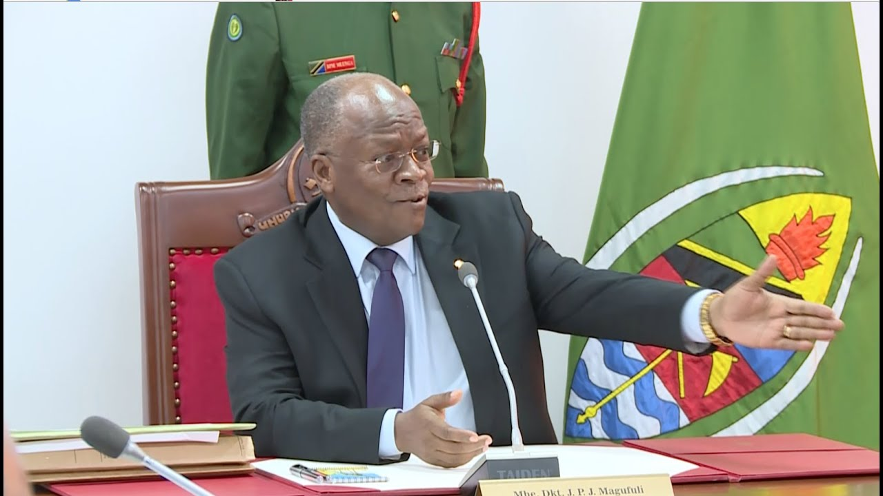 PM says Magufuli is Busy in his Office - Photo The Citizen