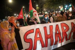 Pro-Western Sahara Rally - Photo Middle East Monitor