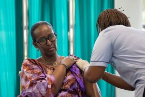 Rwandan First Lady Gets Jab - Twitter