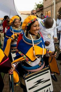 South Africans in Gorgeous Ndebele Regalia - Photo Pinterest