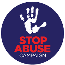 Stop Abuse Campaign Logo on Facebook