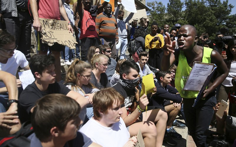 Student Protests in South Africa - Photo AP News